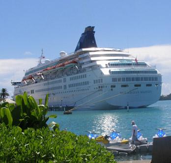 Norwegian Majesty in St. Georges, Bermuda